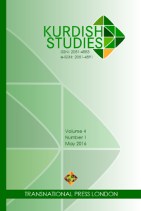 Kurdish Studies cover